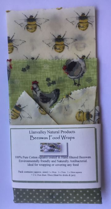 Beeswax Food Wraps Hens